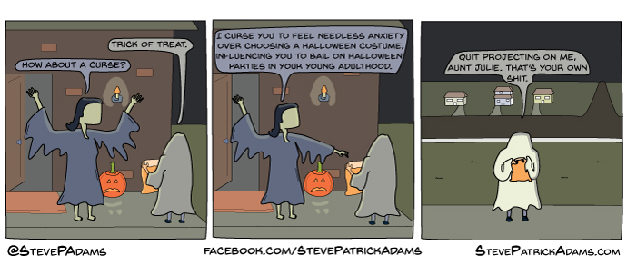 trick or treat curse